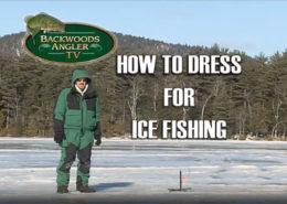 Backwoods Angler Ice Fishing
